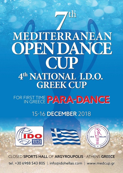 7th Mediterranean Open Dance Cup. 4th National I.D.O. Greek Cup