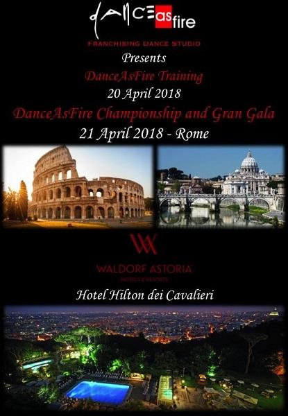 DanceAsFire Championship and Gran Gala