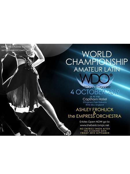 WDO WORLD AMATEUR LATIN CHAMPIONSHIPS