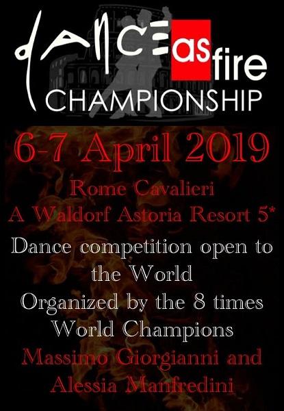 DanceAsFire Championship
