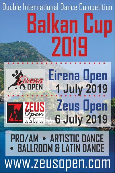 Eirena Open 2019. Balkan Cup 2019