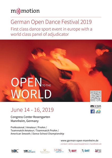 GERMAN OPEN DANCE FESTIVAL 2019