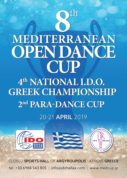 8th MEDITERRANEAN CUP & 4th NATIONAL CHAMPIONSHIP & 2nd PARA DANCE CUP
