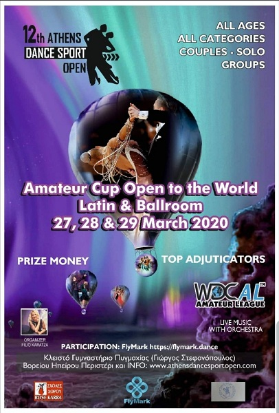 12TH ATHENS DANCE SPORT OPEN