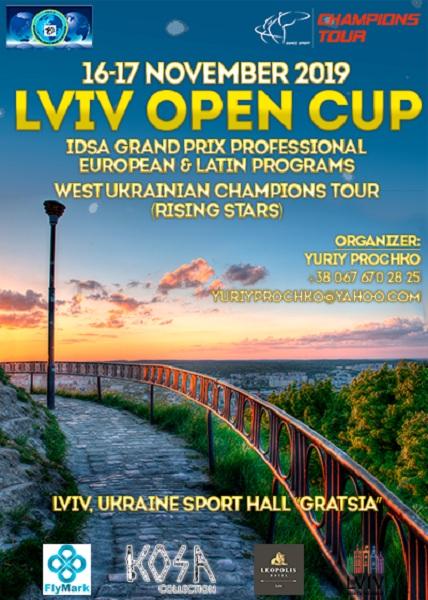 Lviv Open Cup 2019. GP Pro Eur&Latin