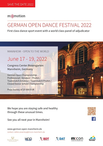 GERMAN OPEN DANCE FESTIVAL 2022