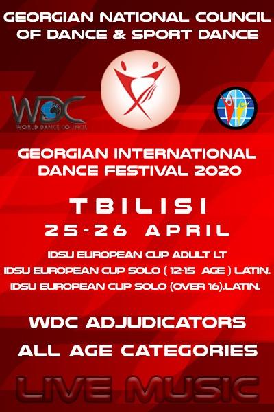 Georgian Open Championship- IDSU European Cup