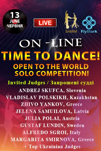 TIME TO DANCE! Open to the World Solo Competition
