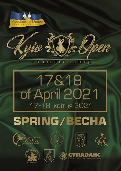 KYIV OPEN CHAMPIONSHIP 2021 (SPRING)