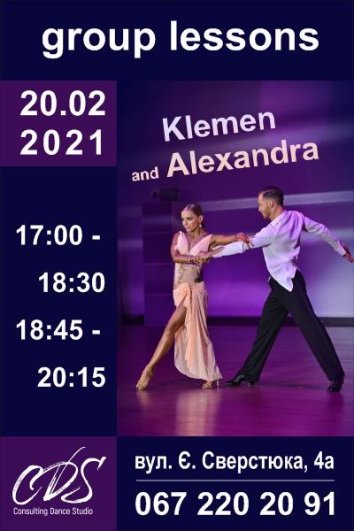 Workshop Klemen Prasnikar & Alexandra Averkieva