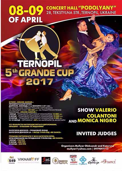 Ternopil 5th Grande Cup 2017