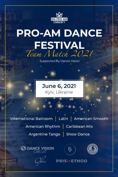 Pro-Am Dance Festival. Team Match 2021