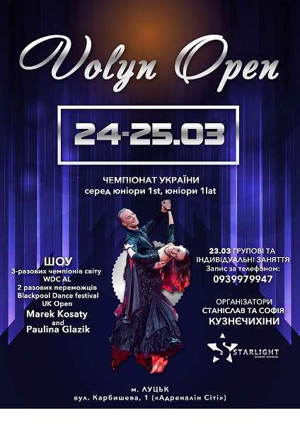 Volyn open 2018