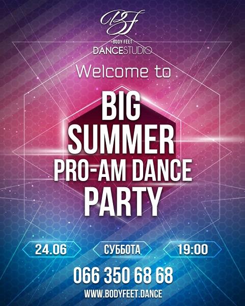 BIG SUMMER PRO-AM DANCE PARTY