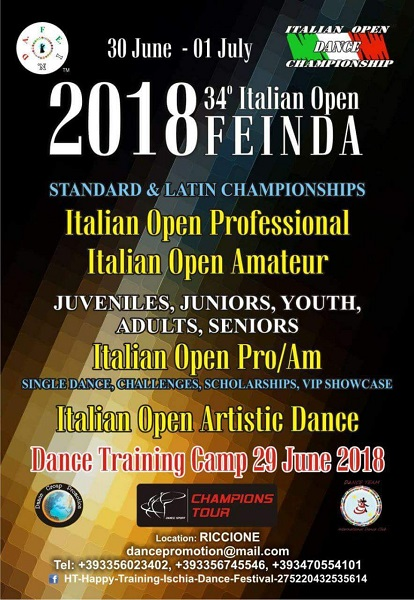 Italian Open Championship 2018